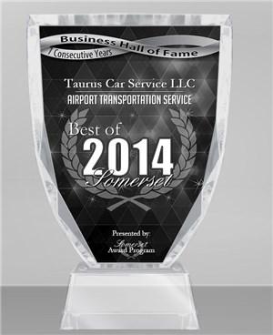 2014 airport transportation award